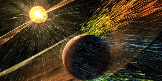 Las tormentas solares convirtieron a Marte en un infierno helado
