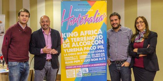 King África actuará en el festival Horteralia de Cáceres