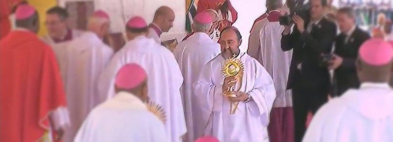 "Monseñor Aguirre: ""¡Gracias Papa Francisco por haber venido!"""