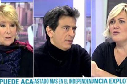 """Aguirre y Espada machacan a Mayka Navarro por defender TV3: """"Es la principal locura del gobierno, ¡seis canales dedicados a la propaganda!"""""""