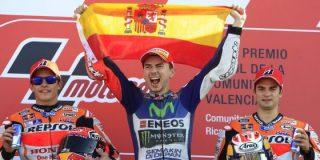 El Govern balear se pone como una moto y hace patria con el español Jorge Lorenzo