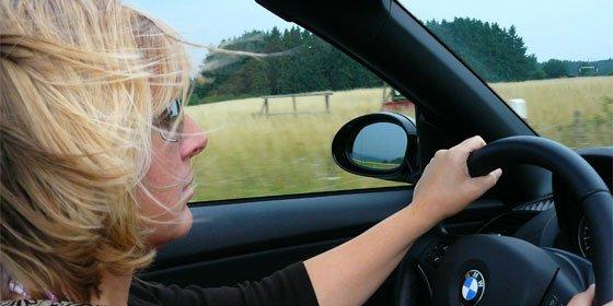 El riesgo de conducir embarazada