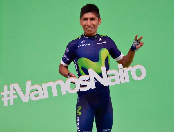 Así es la nueva equipación del Movistar de Valverde y Nairo Quintana