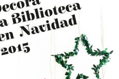 Decora la Biblioteca Pública de Cáceres en Navidad
