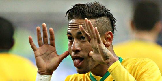 Neymar llega al Real Madrid-Barça cansado y muy criticado en Brasil