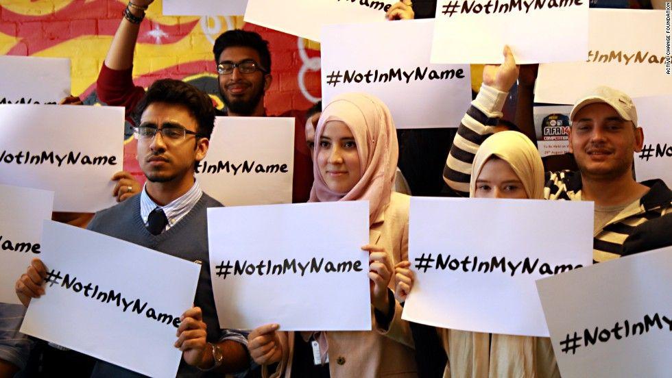 #NotinMyName: El Islam, contra la masacre de ISIS en París