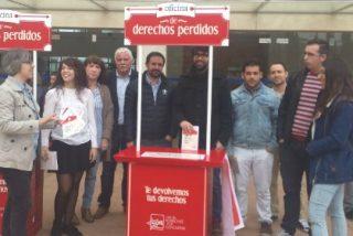 """Arranca en Cáceres la campaña del PSOE """"Oficina de Derechos Perdidos"""""""