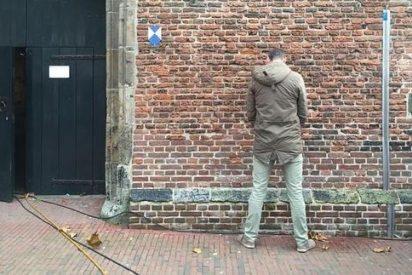 Una iglesia de Holanda prueba un tipo de pintura antiorina