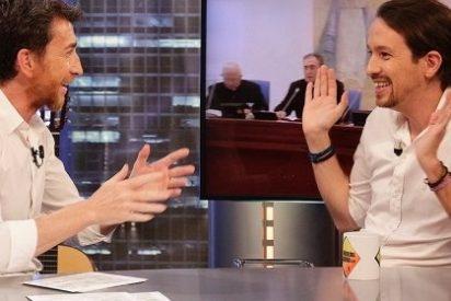 Pablo Iglesias da récord histórico a 'El Hormiguero' (21,7%) tras la Champions (34,5%)