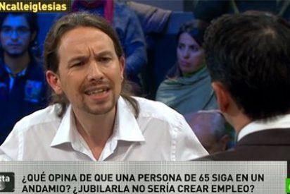 Pablo Iglesias exige la jubilación a los 65 años, pero ahí tiene a Carmena de alcaldesa con 71