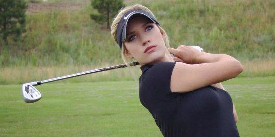 El mundo del golf se rinde ante la belleza de esta sexy jugadora