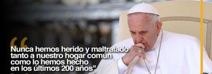 Francisco y obispos de todo el mudo reclaman un desarrollo sostenible que incluya a los pobres