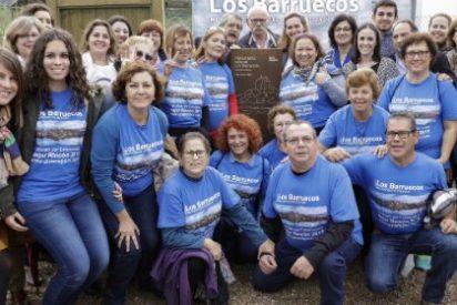 Monumento Natural de Los Barruecos, placa al Mejor Rincón 2015