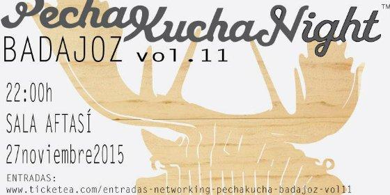Llega una nueva edición de PechaKucha Night Badajoz