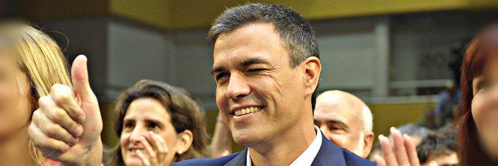 """El socialista Pedro Sánchez dice que derogará """"toda"""" la reforma laboral"""