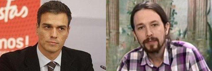 Pablo Iglesias y Pedro Sánchez se cargan a cañonazos su vena antimilitarista