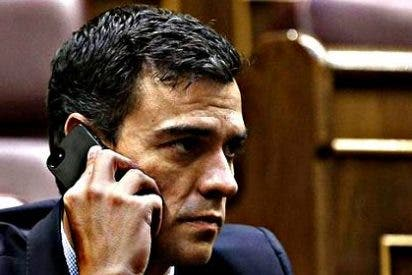 Pedro Sánchez y Pablo Iglesias hablaron 25 minutos y no se dijeron nada