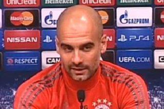 Negociará con Guardiola durante el parón