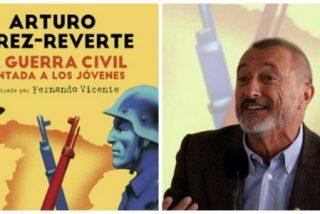 """Pérez Reverte: """"Los jóvenes son manipulados porque no saben lo que fue la Guerra Civil"""""""