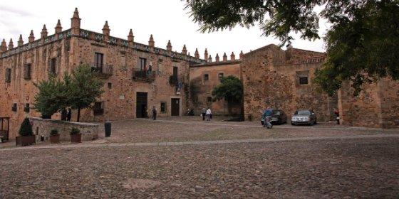 La Plaza de las Veletas de Cáceres acogerá una exhibición de lucha y armamento medieval