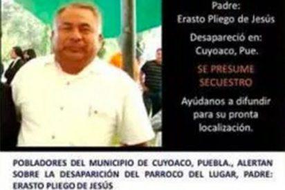 Hallan muerto al sacerdote desaparecido en Puebla