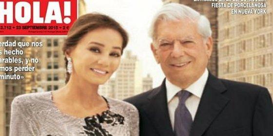 Mario Vargas Llosa da un paso más en su romance con Isabel Preysler