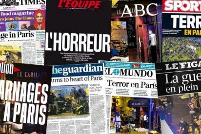 La masacre islamista de París en las portadas de los periódicos de todo el mundo