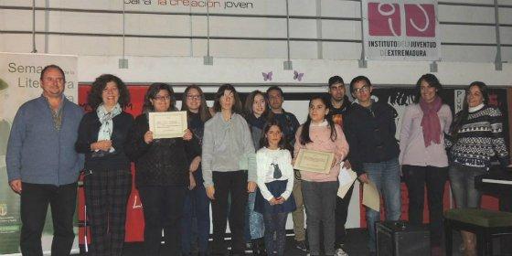 Zafra entrega los premios del Concurso de Narrativa Dulce Chacón