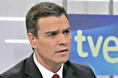 Antológico 'patinazo' en historia de Pedro Sánchez en su entrevista-masaje en TVE