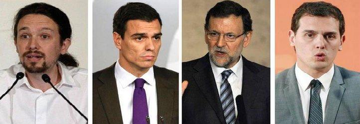 'ABC' y la Cadena SER coinciden: Ganará el PP seguido por PSOE, Ciudadanos y Podemos