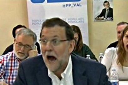 Esta cara puso Mariano Rajoy cuando se dirigieron a él como 'Presidente de la República'
