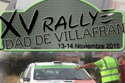 Caballero se apunta el regional y Casimiro la victoria en el XV Rallye Ciudad de Villafranca