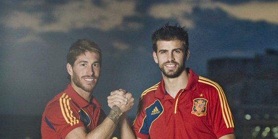Piqué la lía al marcar como favorito esta pulla a Ramos y a Isco