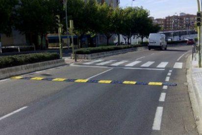 Tráfico coloca diez nuevos reductores de velocidad en Mérida