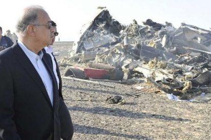 El avión ruso con 224 pasajeros siniestrado en Egipto se rompió en el aire