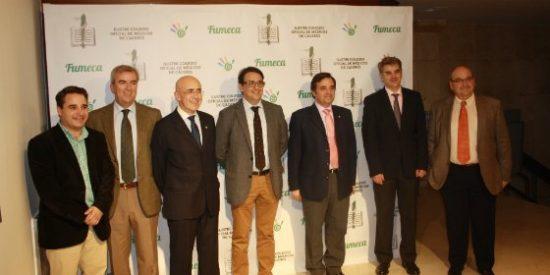 La Junta Directiva del Colegio de Médicos de Cáceres se reúne con el nuevo consejero de Sanidad