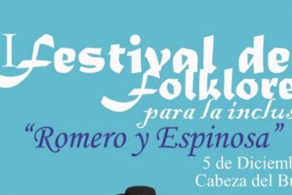 """La Federación Extremeña de Folklore 0rganiza el I Festival para la inclusión """"Romero y Espinosa"""""""