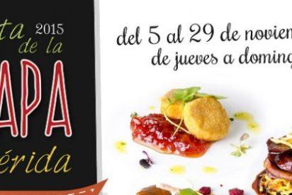 Veintiséis locales de Mérida participan en la Ruta de la Tapa Gourmet