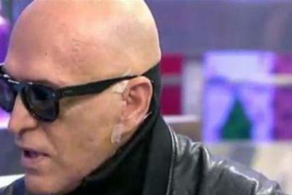 """'Kiko- Robocop' esconde aún más su cara y se hunde en 'Sálvame': """"Me rindo"""""""