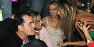 Los secretos más escabrosos de las orgías con putas de Charlie Sheen
