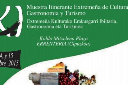 Errentería acoge la XI Muestra Itinerante Extremeña de Artesanía, Cultura, Gastronomía y Turismo