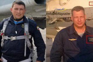 Así acribillan las milicias sirias a los dos pilotos rusos del Su-24 en paracaídas
