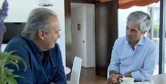 """El hijo de Adolfo Suárez 'acorrala' a Bertín Osborne: """"Eras más facha que facha"""""""