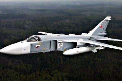 Turquía derriba un avión de combate ruso en la frontera con Siria alegando que violó su espacio aéreo