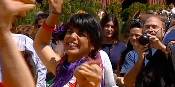 ¡Que no le falte de ná a 'Kichi woman'!: Le pasa a Bruselas los gastos de la fiesta por la inauguración de un local de Podemos