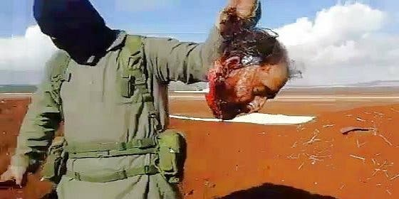 La 'decapitación exprés' del impávido sirio a manos de Al-Nusra