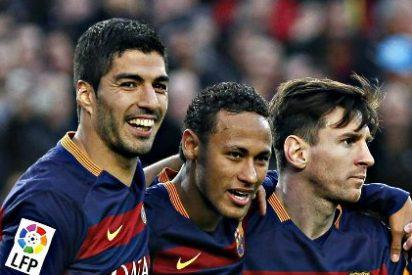 El Barcelona es una máquina y golea a la Real Sociedad (4-=9 en plan 'guateque'