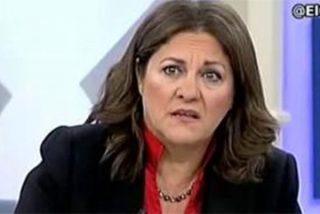 """La xenófoba Trujillo le ríe la gracia a un tuitero que llamó """"hienas"""" a 13TV"""