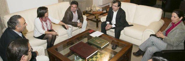 La Junta de Extremadura confía en llegar a acuerdos con agentes sociales y grupos parlamentarios