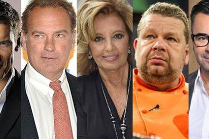 Los cinco 'quemados' de la TV: presentadores que ya nos tienen un poco hartos y deberían darse un respiro